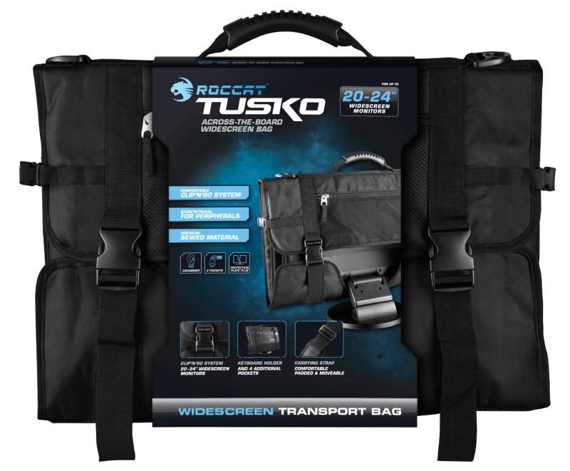 ROCCAT Tusko Across-the-board Widescreen Bag inkl. SYVA In-Ear H - zum Schließen ins Bild klicken