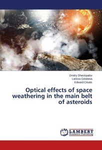 Optical effects of space weathering in the main belt of asteroid