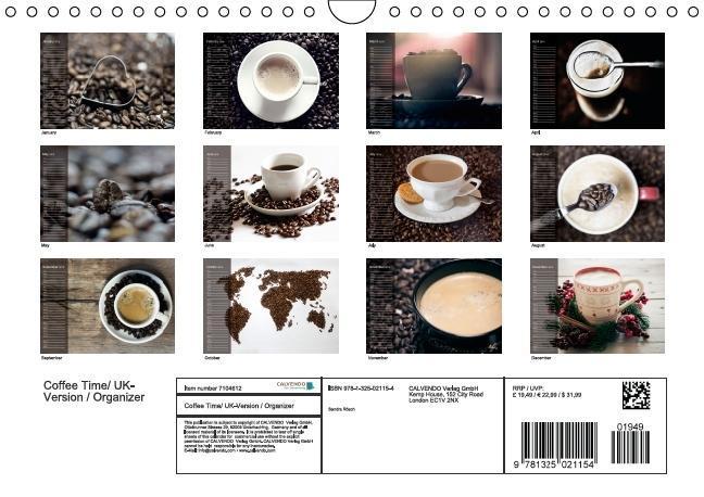Rosch, S: Coffee Time/ UK-Version / Organizer - zum Schließen ins Bild klicken