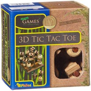 Philos 3266 - Tic Tac Toe, 3-D, Bambus