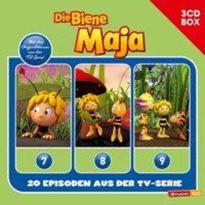 Die Biene Maja 3-CD Hörspielbox zur neuen TV-Serie (CGI) Vol. 3