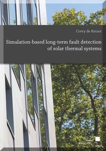 Simulation-based long-term fault detection of solar thermal syst