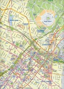 Los Angeles City Map 1 : 15 000 / California South 1 : 1 000 000