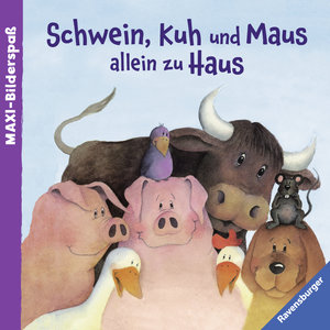 Schwein, Kuh und Maus allein zu Haus