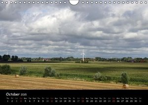 Ostfriesland - Land on the coast / UK-Version (Wall Calendar 201