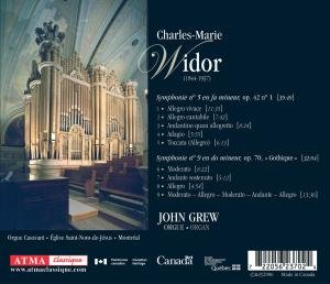 Widor: Organ Sinfonien 1 & 9