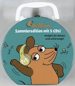 Die Sendung mit der Maus Sammelbox (CD 1-5)