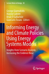 Informing Energy and Climate Policies using Energy Systems Model