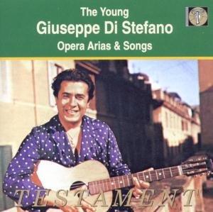 Der Junge Di Stefano Singt Arien Und Lieder