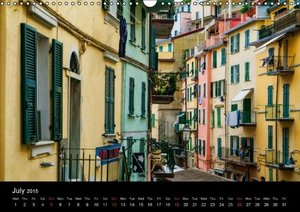 Magical Tuscany and Liguria (Wall Calendar 2015 DIN A3 Landscape