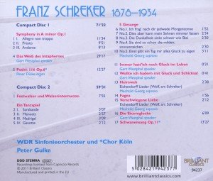 Orchestral And Choral Music