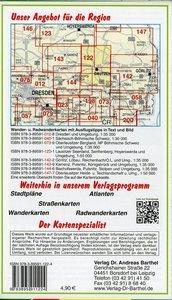 Bautzen und Umgebung 1 : 35 000. Radwander- und Wanderkarte