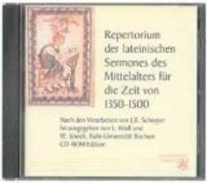 Repertorium der lateinischen Sermones des Mittelalters. Für die