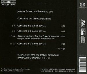 Konzerte für zwei Cembali