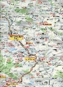 Erfurt, Weimar, Eisenach, Jena und Umgebung 1 : 125 000 Ausflugs