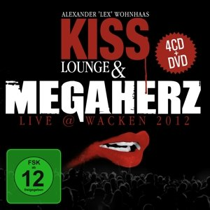 Kiss Lounge & Megaherz Live Wacken 2012.4CD+DVD