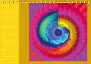 Energie-Spiralen 2016 (Tischkalender 2016 DIN A5 quer)