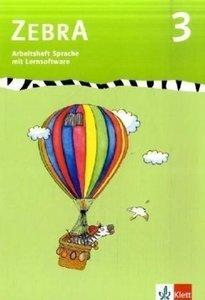 Zebra 3. Arbeitsheft Sprache 3.Schuljahr