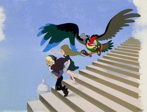 Der König und der Vogel