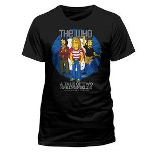 The Who (T-Shirt,Schwarz,Größe M)