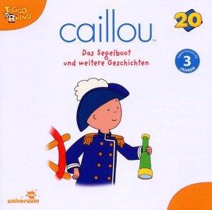 Caillou 20 Audio:Das Segelboot und weitere Geschic
