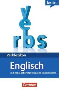 Lextra Verben-Wörterbuch: Englische Verben