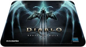 SteelSeries QcK+ Diablo 3 Reaper of Souls Gaming Mauspad