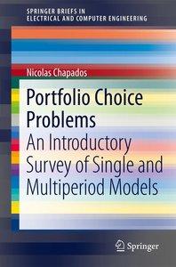 Portfolio Choice Problems