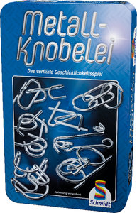 Metall-Knobelei in Metalldose