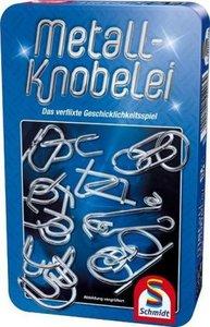 Metall-Knobelei in Metalldose