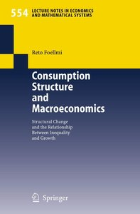 Consumption Structure and Macroeconomics