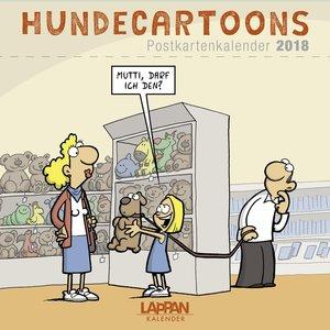Hundecartoons - Postkartenkalender 2018