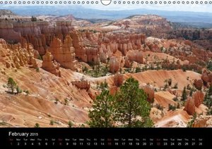 USA Southwest / UK-Version (Wall Calendar 2015 DIN A3 Landscape)