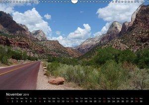 USA Southwest / UK-Version (Wall Calendar 2015 DIN A3 Landscape)