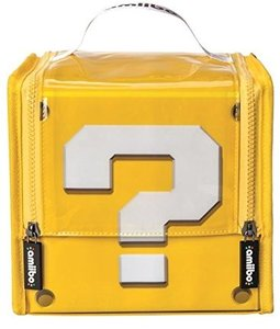Amiibo - Super Mario Question Block Case, Tasche für Amiibo-Figu