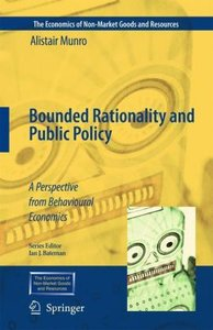 Bounded Rationality and Public Policy