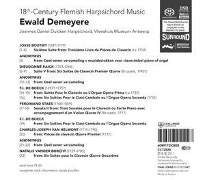 18th-Century Flemish Harpsichord Music