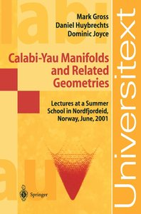 Calabi-Yau Manifolds and Releated Geometries