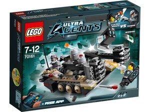 LEGO® Agents 70161 - Tremors Kettenfahrzeug