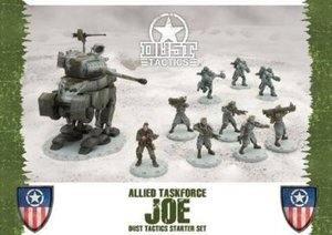 Heidelberger BF113 - Dust Tactics: Allies Taskforce JOE Starter