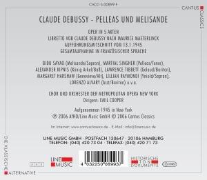 Pelleas Und Melisande (GA)