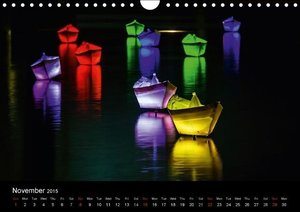 Colours of Berlin (Wall Calendar 2015 DIN A4 Landscape)
