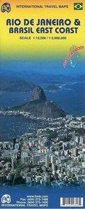 Rio de Janeiro & Brasil East Coast 1:12.500 / 1 : 3 000 000