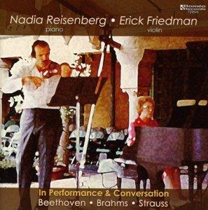 Reisenberg und Friedman in Konzert und Gespräch