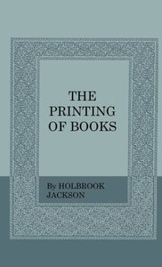 The Printing Of Books
