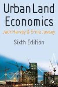 Urban Land Economics