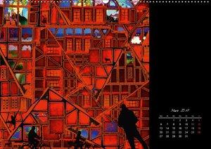 Mein wildes Stadtleben - PopArt von Ruth Kumpernatz