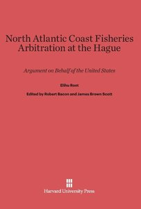 North Atlantic Coast Fisheries Arbitration at the Hague