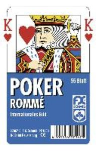 Poker, Internationales Bild. FXS Traditionelle Spielkarten