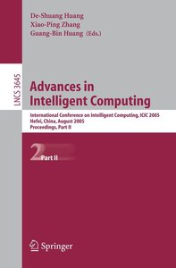 Advances in Intelligent Computing